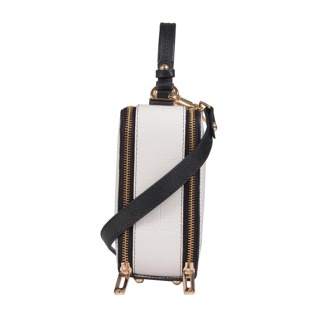 Bolsa box tiracolo branca I19 3