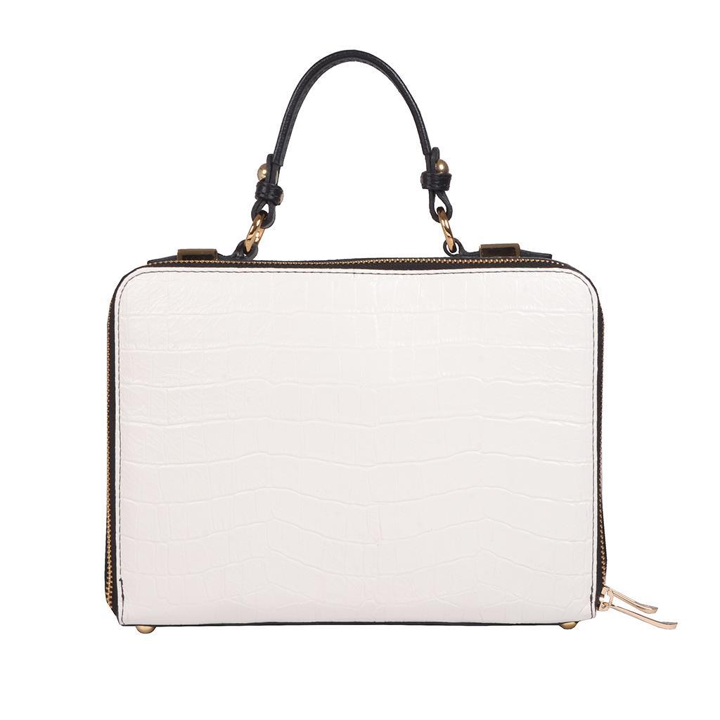 Bolsa box tiracolo branca I19 4