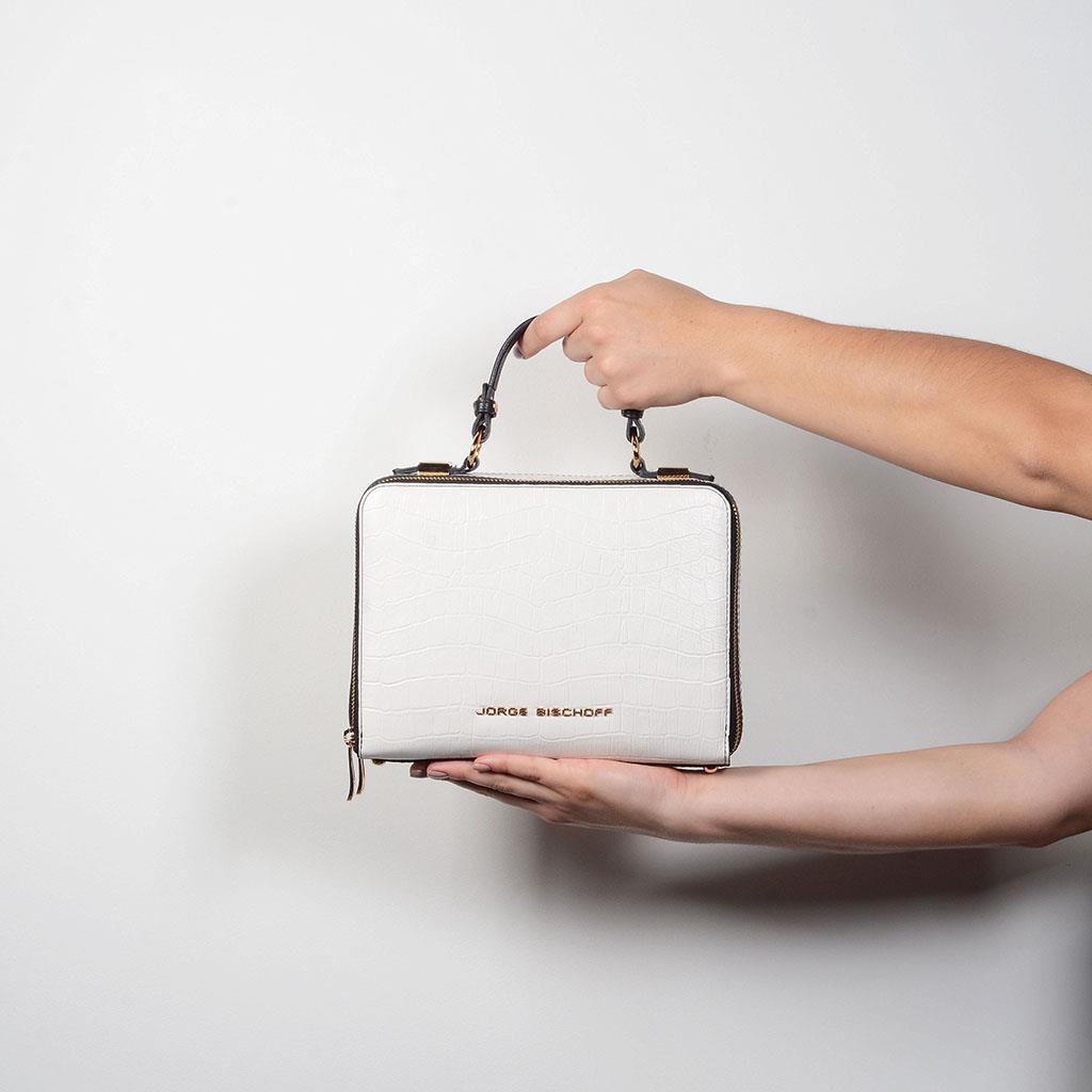 Bolsa box tiracolo branca I19 6