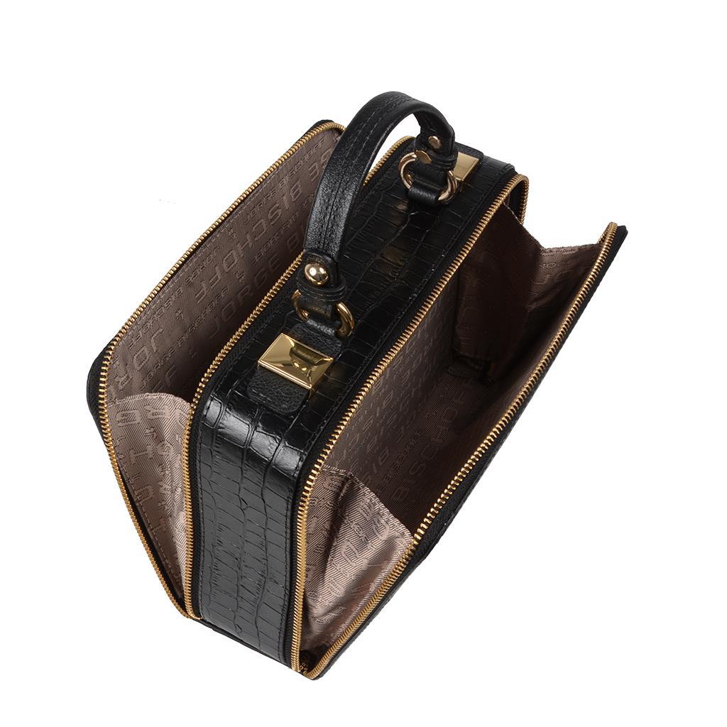 Bolsa box tiracolo preta I19 5
