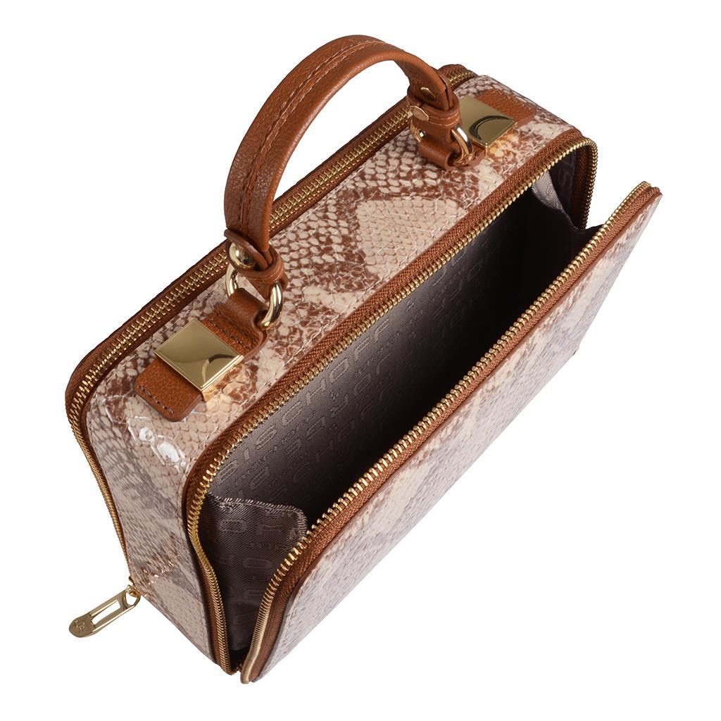 Bolsa box tiracolo creme I19 5