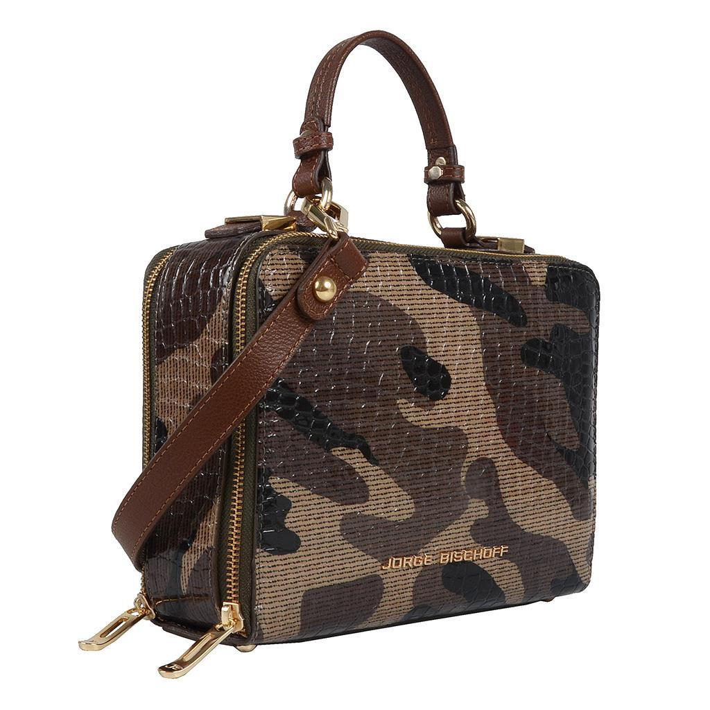 Bolsa box tiracolo camuflada militar I19 2