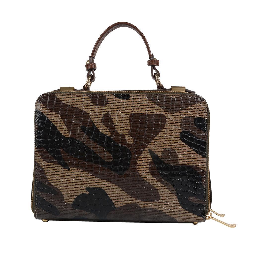 Bolsa box tiracolo camuflada militar I19 4