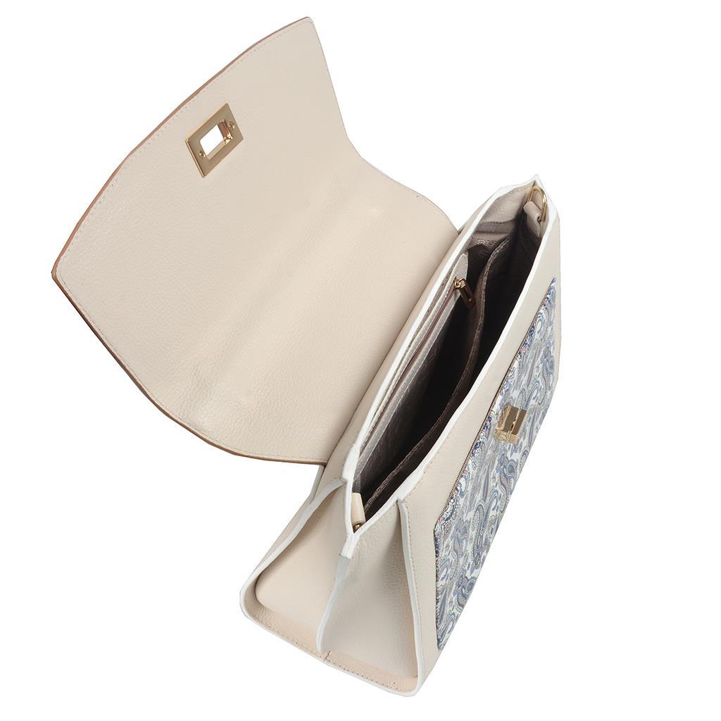 Bolsa Estruturada Off White 2