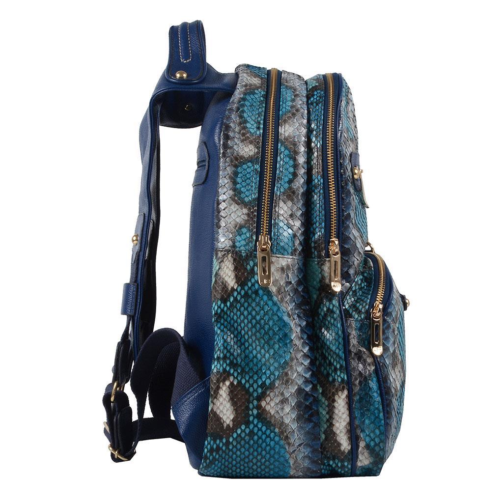 Mochila píton azul V19 3
