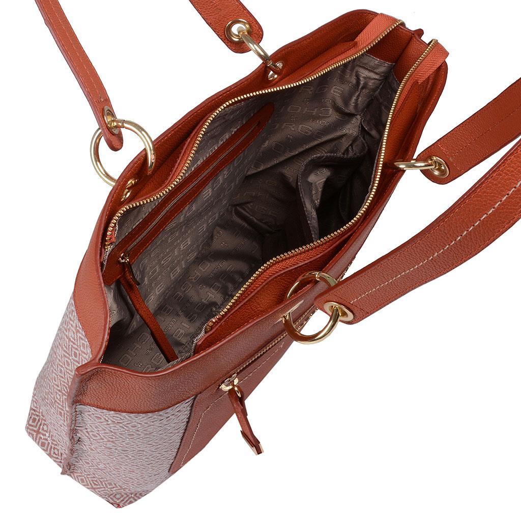 Bolsa sacola terracota I19 5