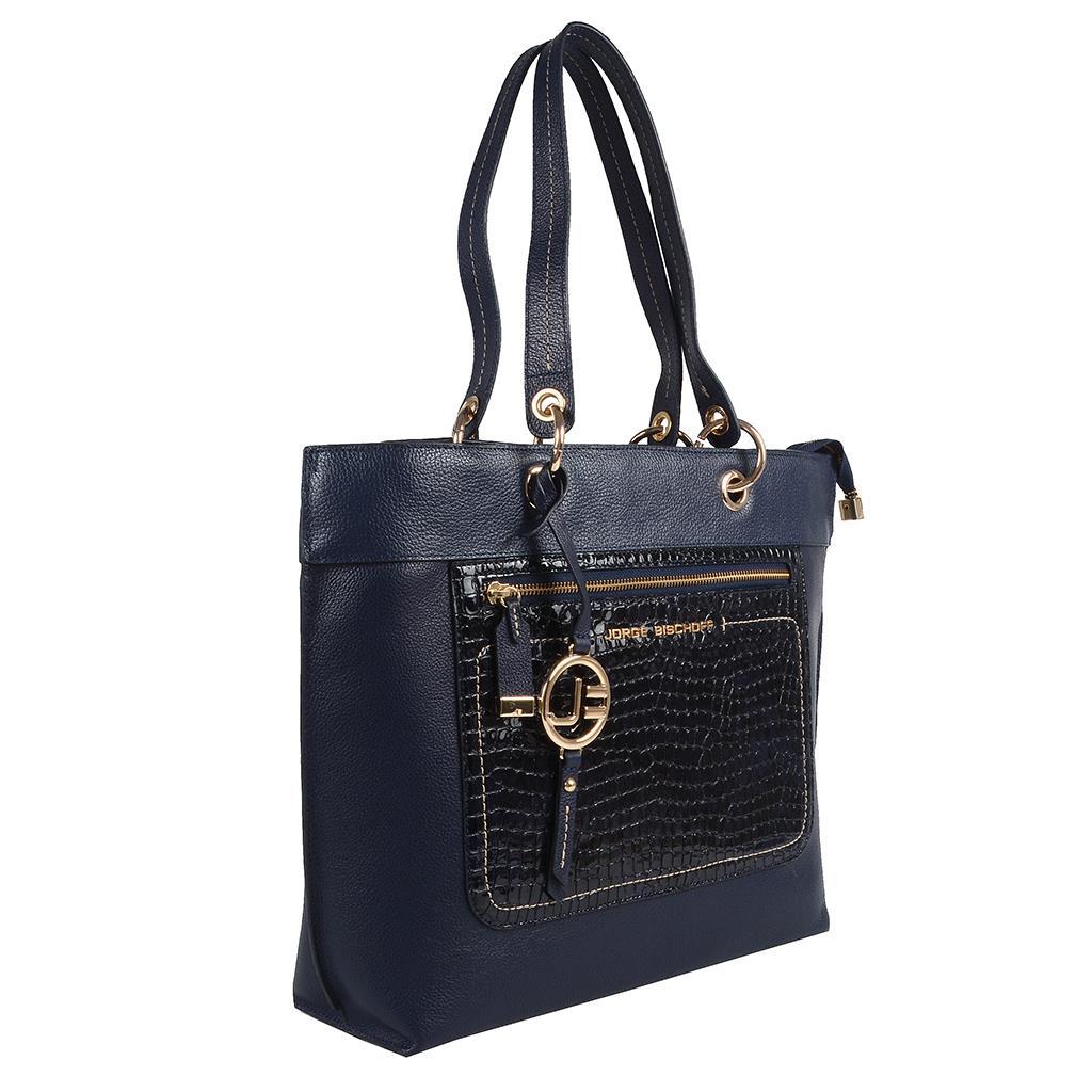 Bolsa sacola azul carbono I19 2