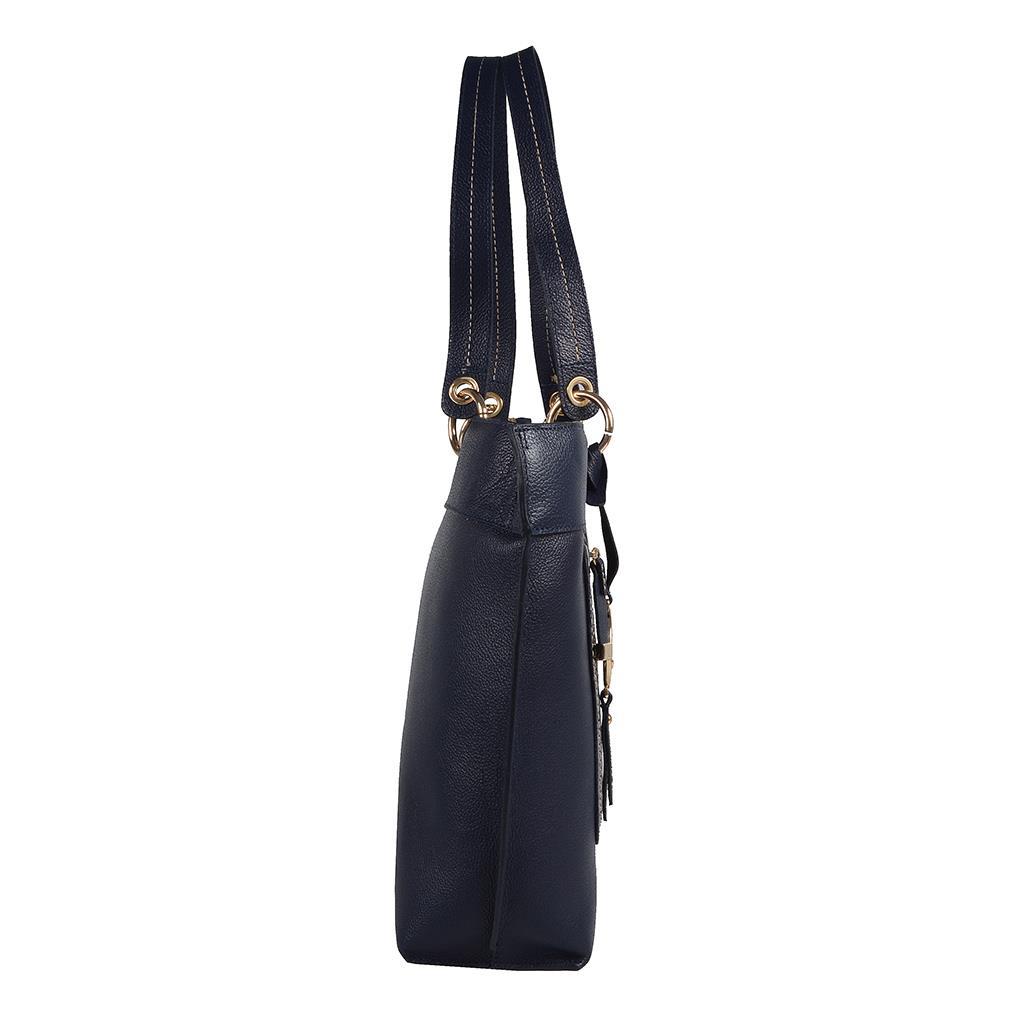 Bolsa sacola azul carbono I19 3