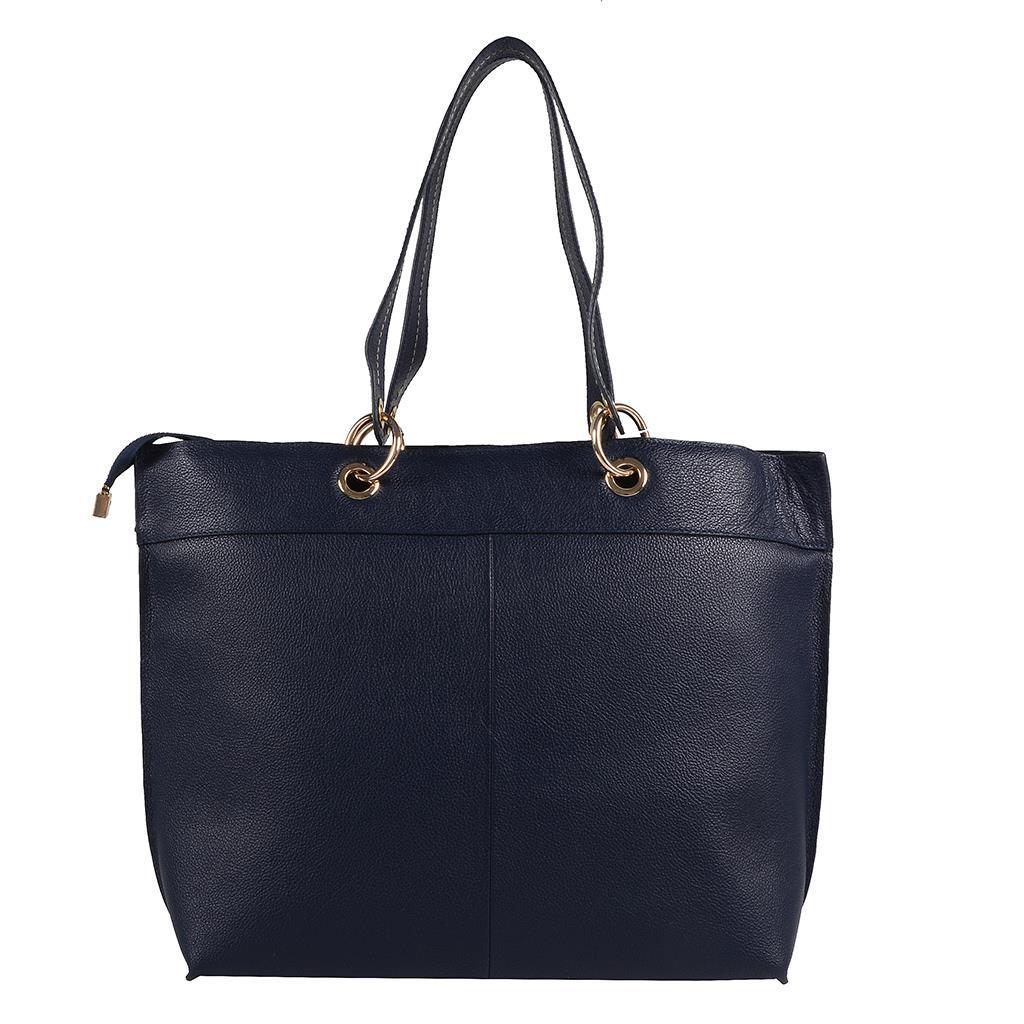 Bolsa sacola azul carbono I19 4