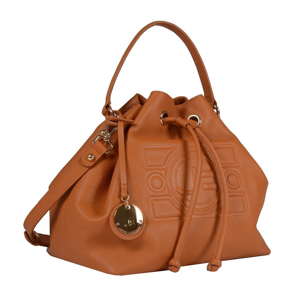 Bolsa Saco Whisky com Bag Charm V20 2