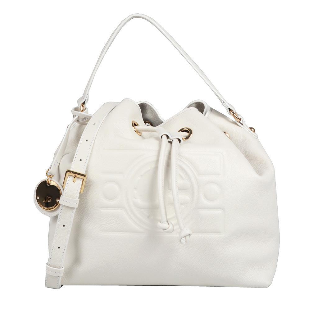 Bolsa Saco Branca com Bag Charm V20