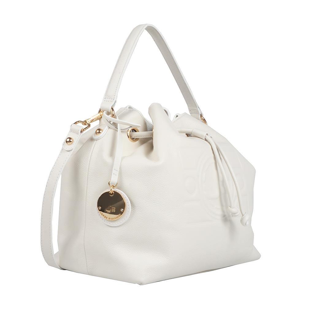 Bolsa Saco Branca com Bag Charm V20 2
