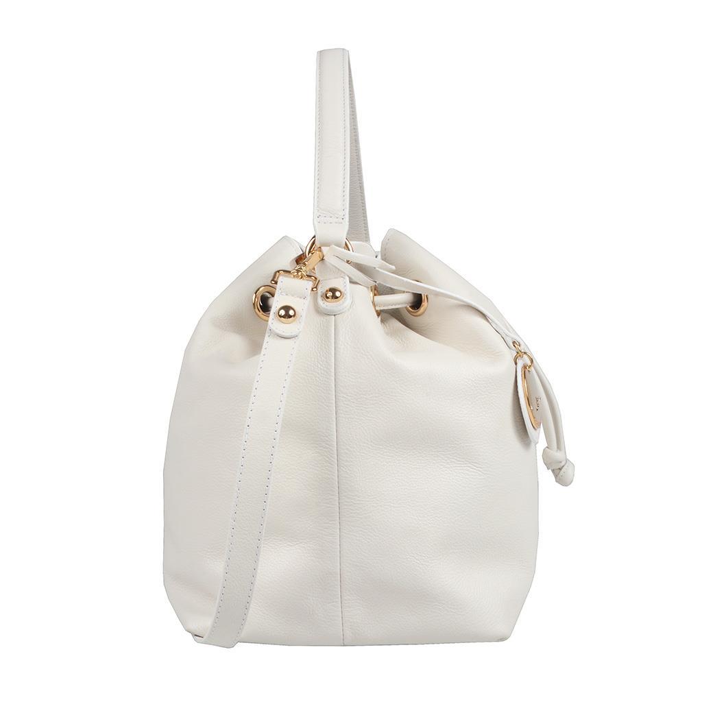 Bolsa Saco Branca com Bag Charm V20 3