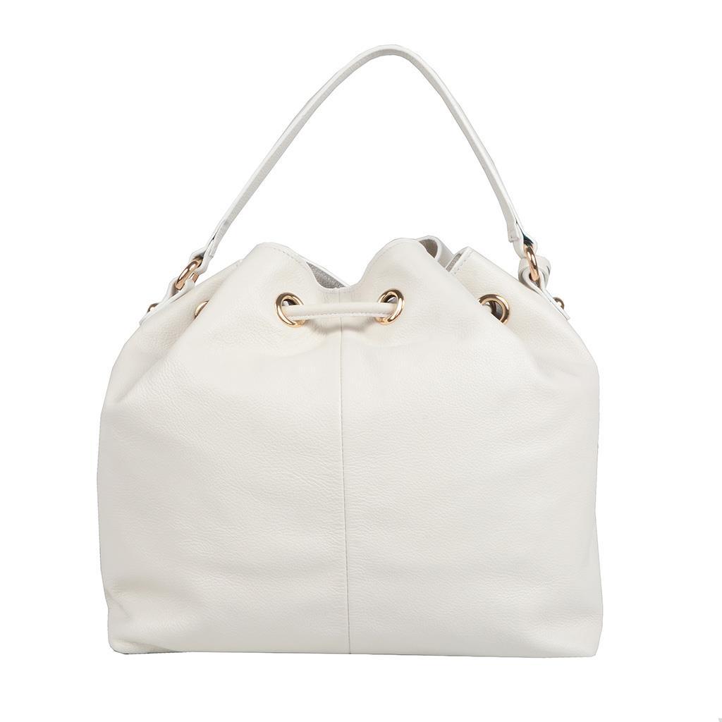 Bolsa Saco Branca com Bag Charm V20 4