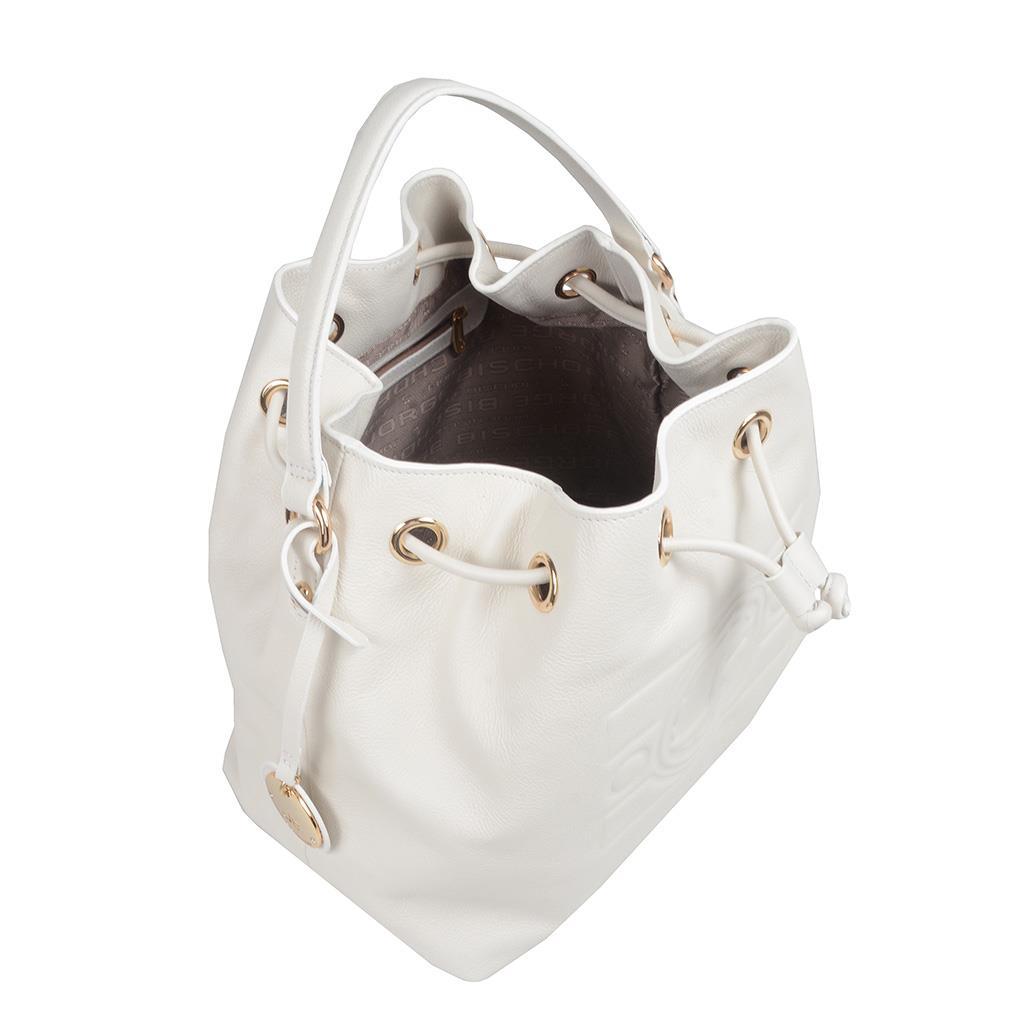 Bolsa Saco Branca com Bag Charm V20 5