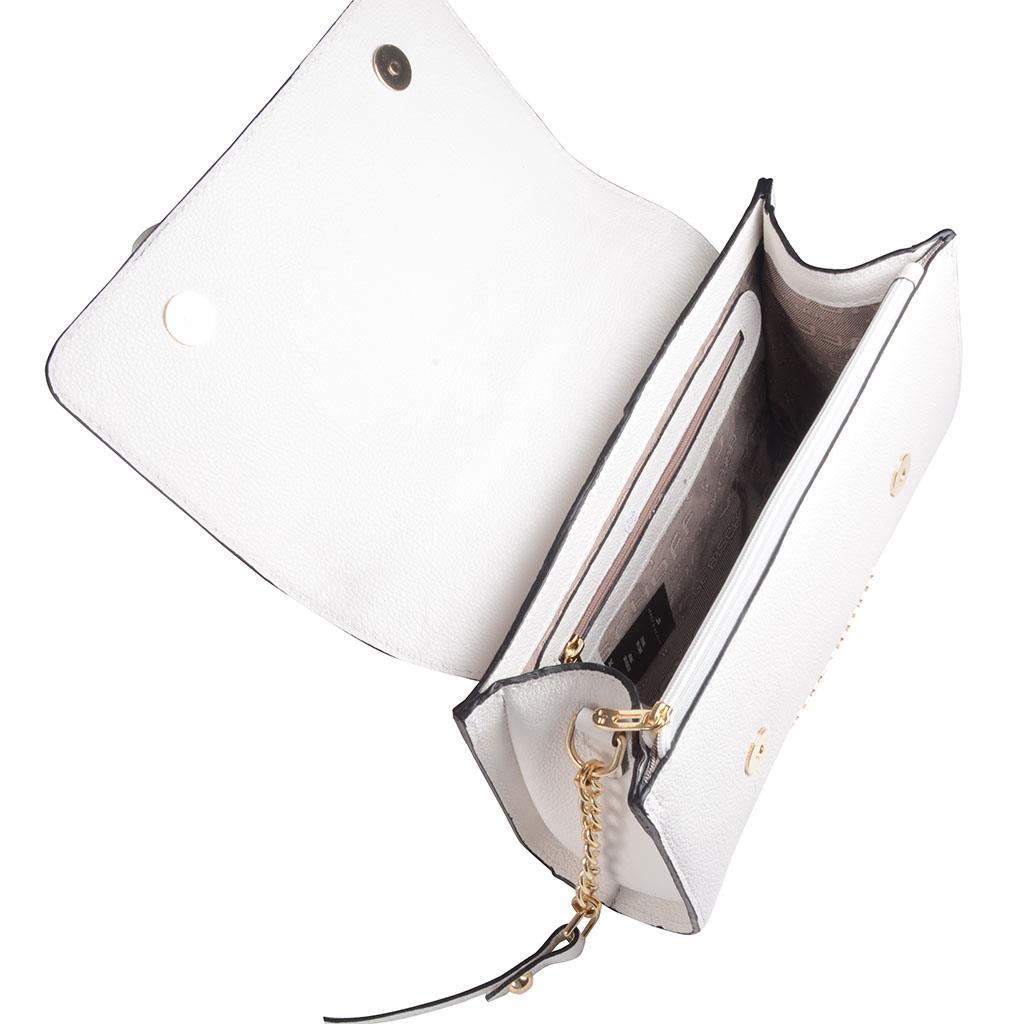 Bolsa tiracolo branca I19 5