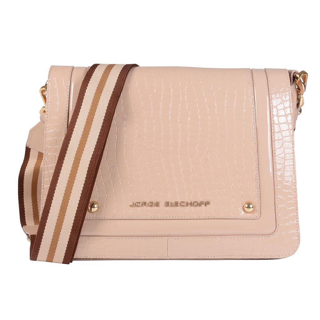 Bolsa tiracolo estruturada blush I19