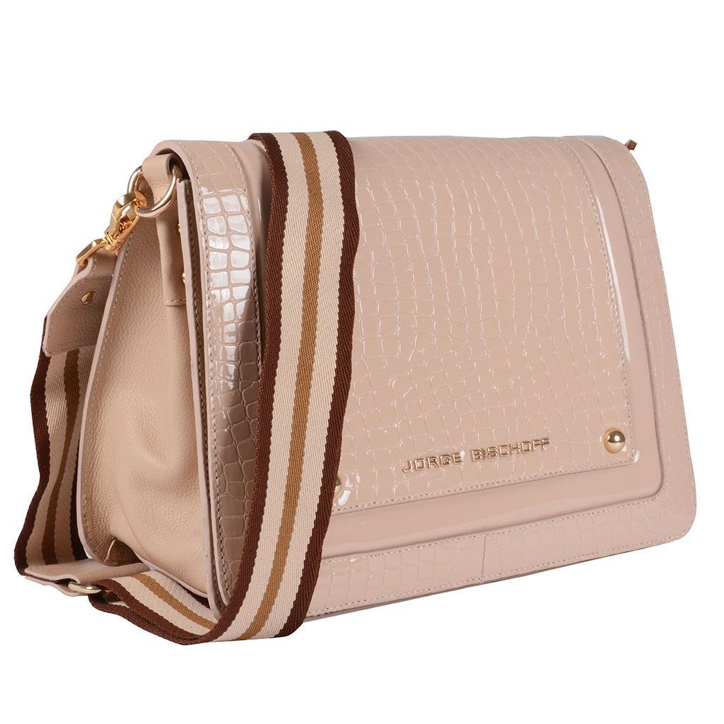 Bolsa tiracolo estruturada blush I19 2