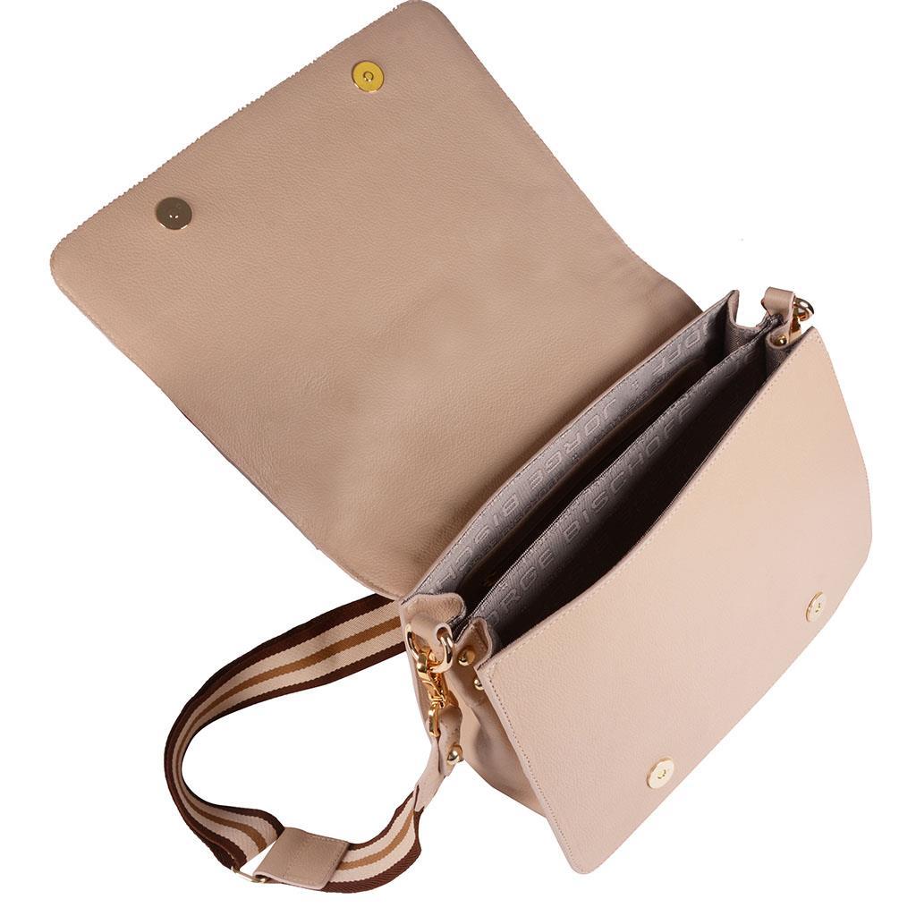 Bolsa tiracolo estruturada blush I19 5