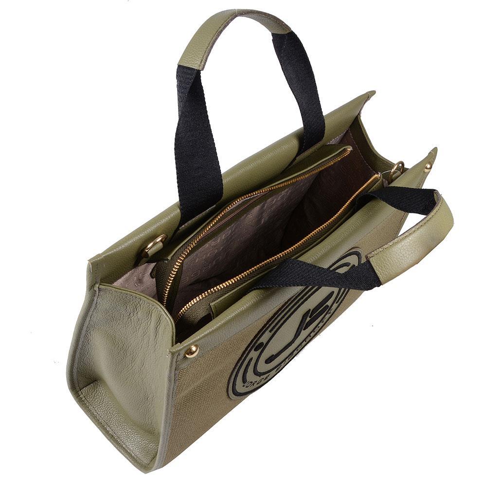 Bolsa sacola verde militar I19 5