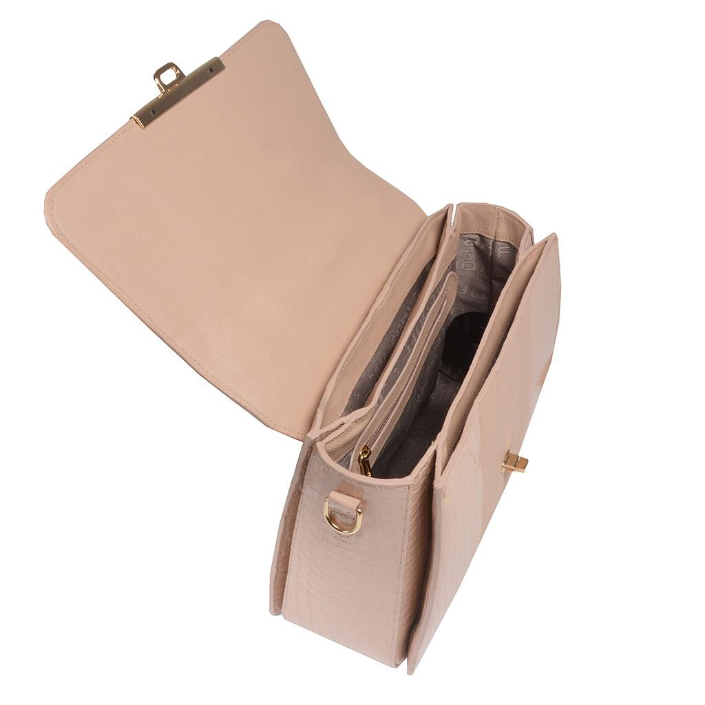 Bolsa estruturada blush I19 5
