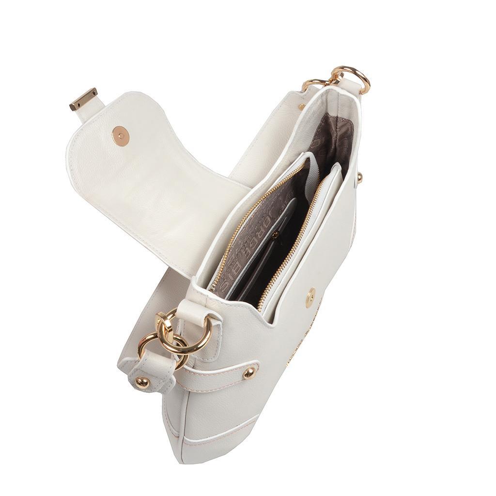 Bolsa baguete branca V20 5