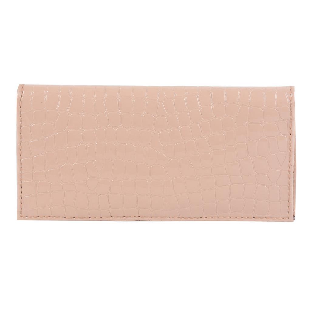 Carteira porta-cartões verniz blush I19 2
