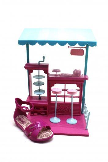 Sandália Infantil Barbie Confeitaria