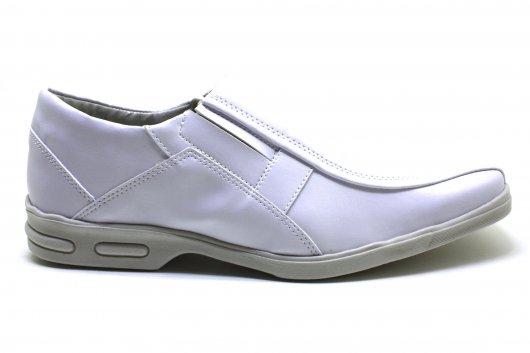 Sapato Masculino Bertelli Branco