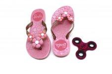 Imagem - Chinelo Infantil Barbie Spinner cód: 151353