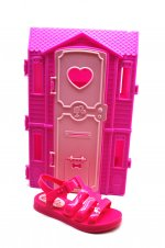 Imagem - Sandália Infantil Barbie Dream House cód: 155744