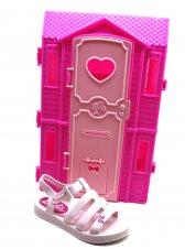 Imagem - Sandália Infantil Barbie Dream House cód: 155743