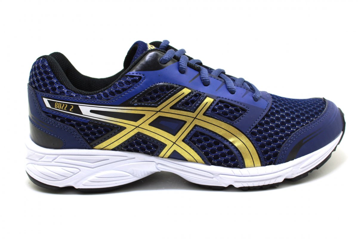 dbdbe40798 Tenis Asics Buzz 2 GS Patriot