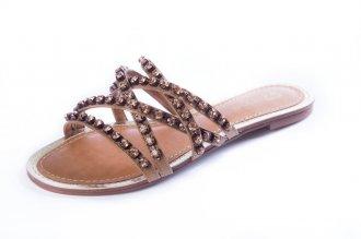 Imagem - Rasteira  My Shoe Pedra cód: 000242