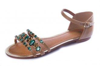 Imagem - Sandalia  My Shoe Pedra cód: 000244