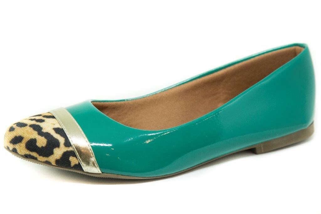 db59d52d78 Sapatilha My Shoe Bico Animal Print