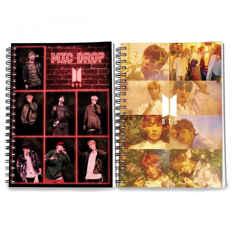 Conjunto 2 cadernos BTS II