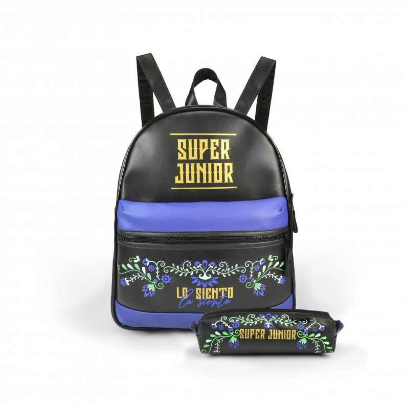 Conjunto Bolsa Mini-Mochila Super Junior