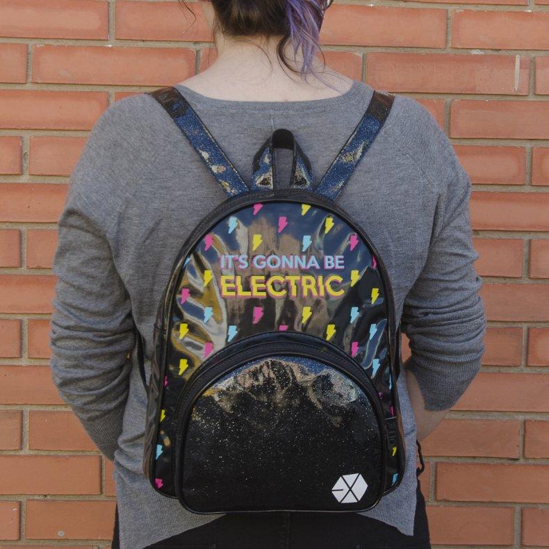 Conjunto Mini-mochila + estojo EXO - Electric Kiss