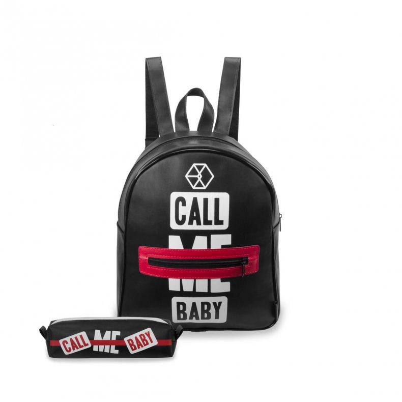 Conjunto Mini-mochila + estojo EXO - CALL ME BABY