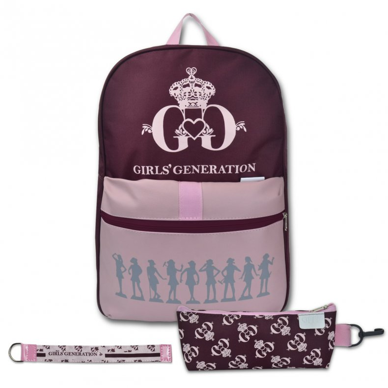 Conjunto Mochila + Estojo + Chaveiro GIRLS' GENERATION THE FIRST ALBUM