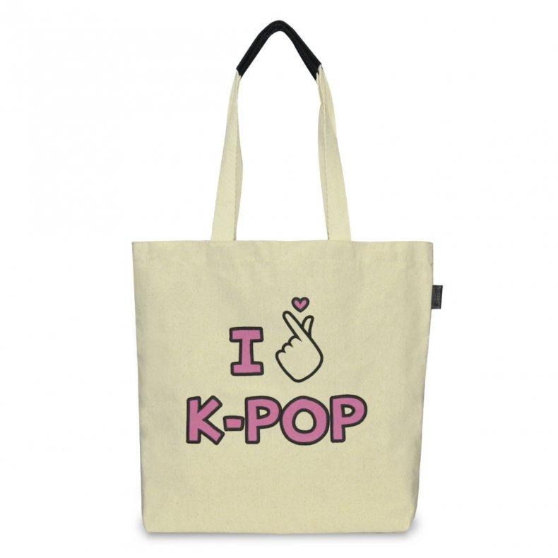 Ecobag I love K-pop