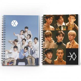 Conjunto 2 cadernos Exo