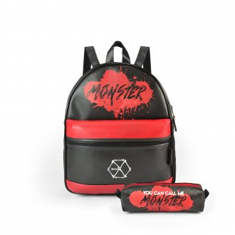Conjunto Bolsa Mini-Mochila EXO - Monster