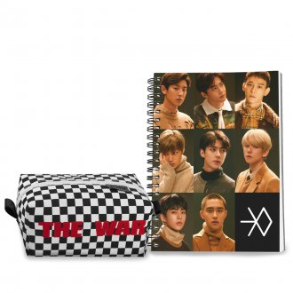 Conjunto Estojo + Caderno EXO POWER