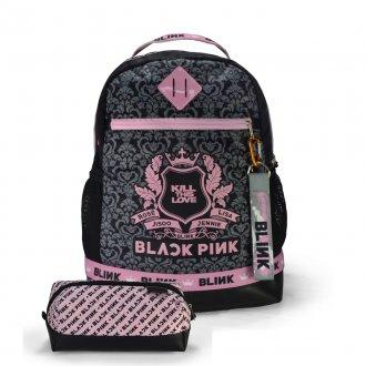 Imagem - Conjunto Mochila + Estojo + Chaveiro BLACK PINK - KILL THIS LOVE - 85982.108