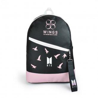 Mochila escolar BTS Wings