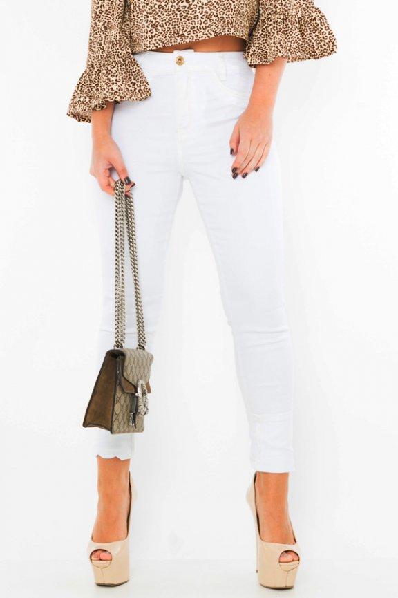 Calça Hot Pants Off White