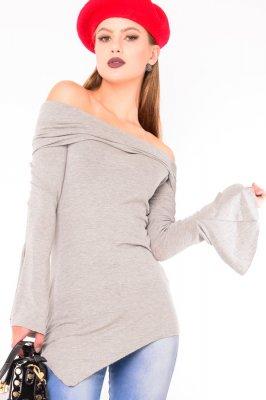 Imagem - Maxi Blusa Decote Ombro a Ombro