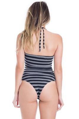 Imagem - Body Canelado com Decote